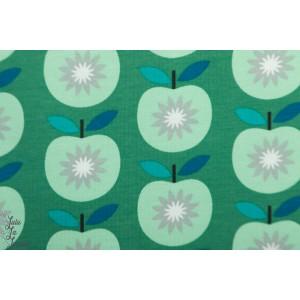 Sweat French terry Apple vert