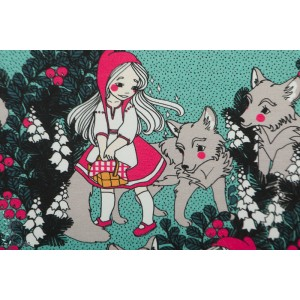 Jersey bio Ommellinen Little Red Riding Hood and the Wolf Mint