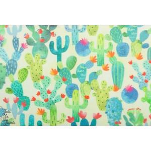 Popeline Michael Miller - La Vida Loca - cactus Garden