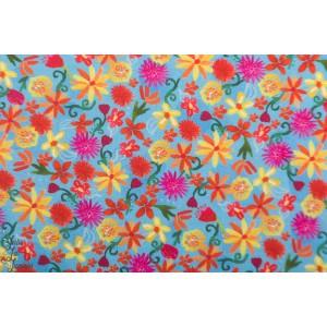 Popeline Michael Miller - La Vida Loca - Flower Fiesta