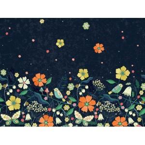Popeline Dashwood Hedgerow simple bordure