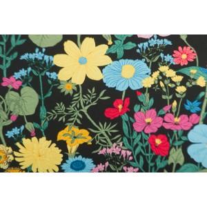 Jersey Vintage Botanical - prairie fond noir