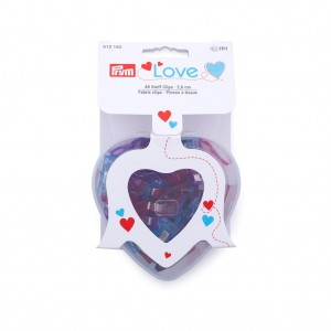 PRYM LOVE PINCES À TISSUS 2,6 CM BOÎTE de 40 - Prym Love 610185