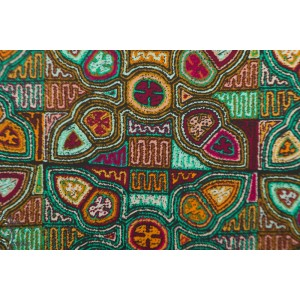 Flowering Molas in Cotton from Andina by AGF Studio