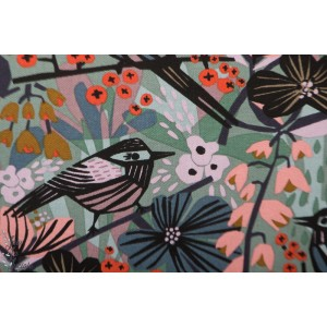 Canvas Bio Cloud9 Birds & Blossoms  from Under One Sky