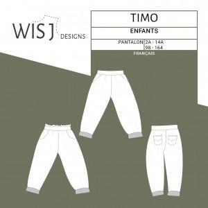 Pantalon Timo  – patron couture  WISJ