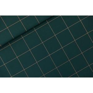 Canvas SYAS Thin Grid - XL - Toile de Coton Gabardine - Green Gables -
