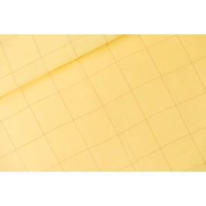 Double Gaze Thin Grid - XL - Jaune Popcorn -   SYAS