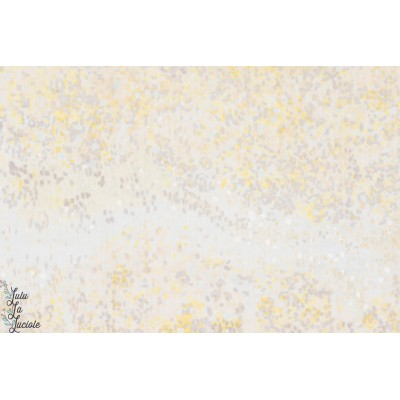 tissu coton Double Gaze Lavande -BIRDS EYES nani iro kokka lavande 2017