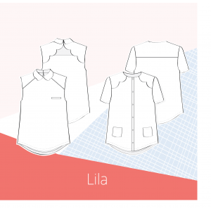 Patron chemise LILA Couture femme mode  slow sunday