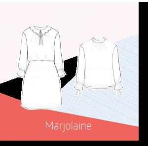 Patron robe Blouse MARJOLAINE couture mode femme Slow Sunday paris